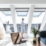 Vetranie miestností strešným oknom Velux