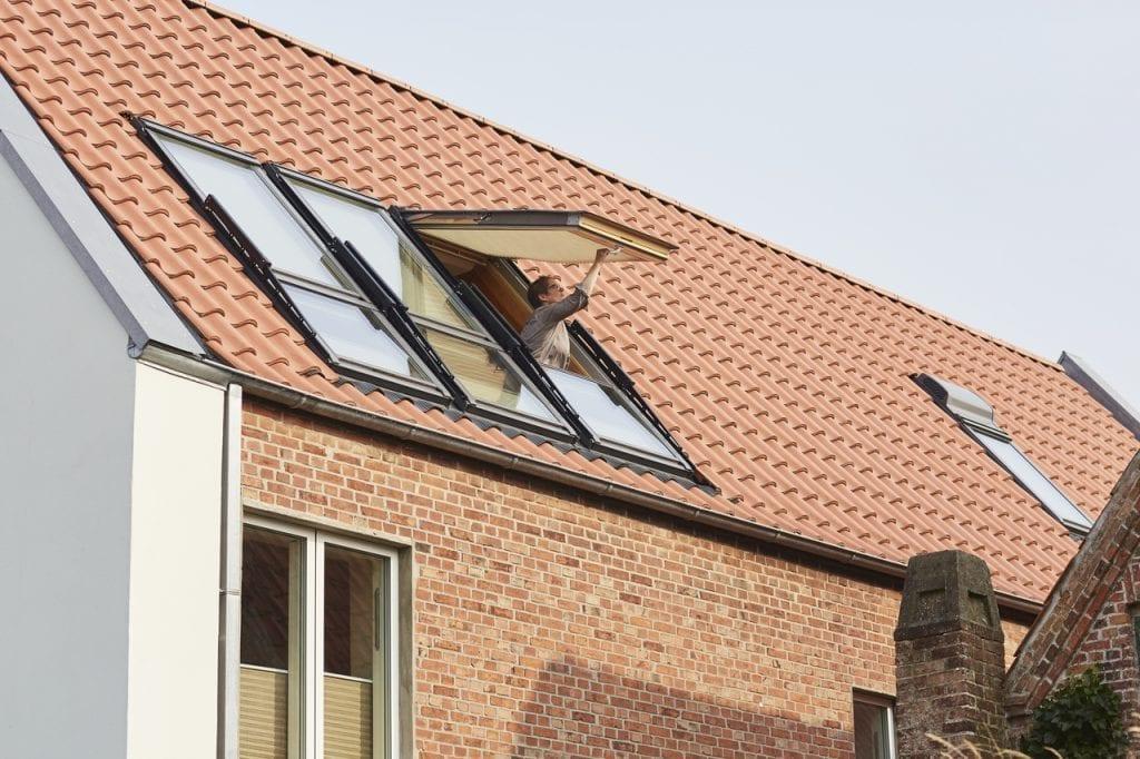 Vetranie strešným oknom Velux Meldorf Moods