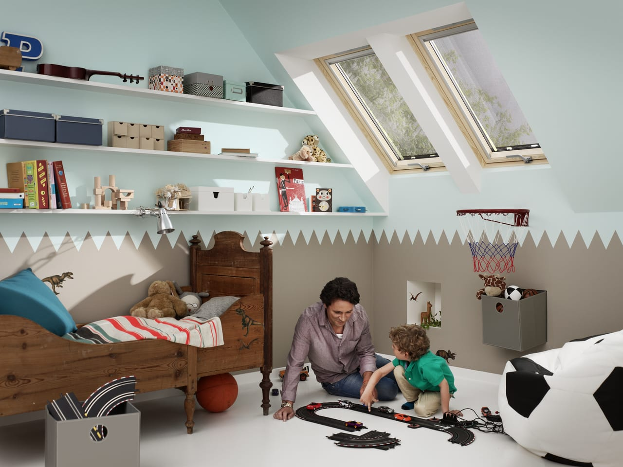 Zdravá detská izba.