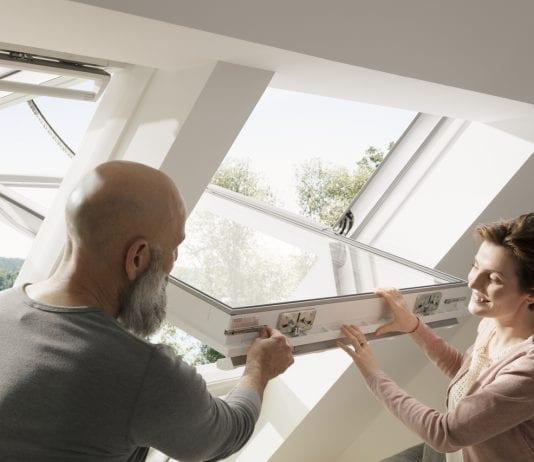 ako opraviť strešné okno,