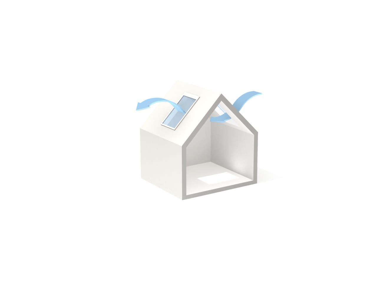 vetranie, typy ventilácií, schodisková šachta