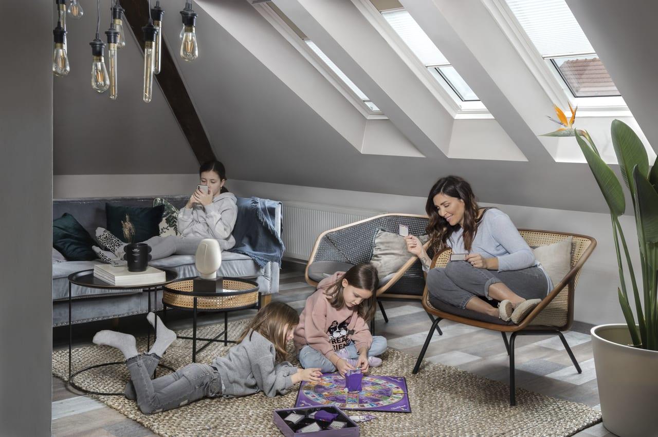 dvojgeneračné bývanie, bývanie v podkroví, zobytnenie podkrovi